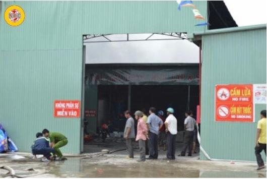quy định về phòng cháy chữa cháy trong công ty