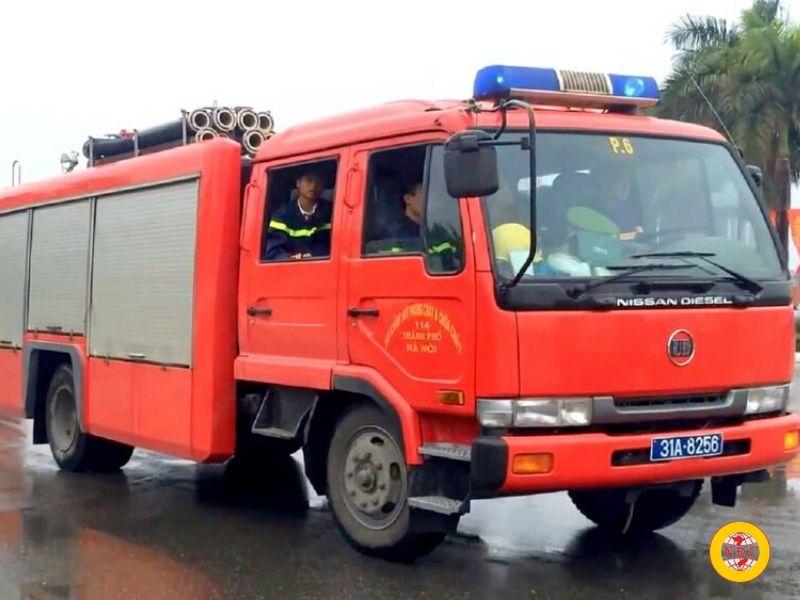 yêu cầu thiết kế đường cho xe chữa cháy