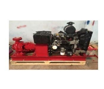 Máy Bơm Chữa Cháy Động Cơ Diesel Kohler KDW 2204T-48KW