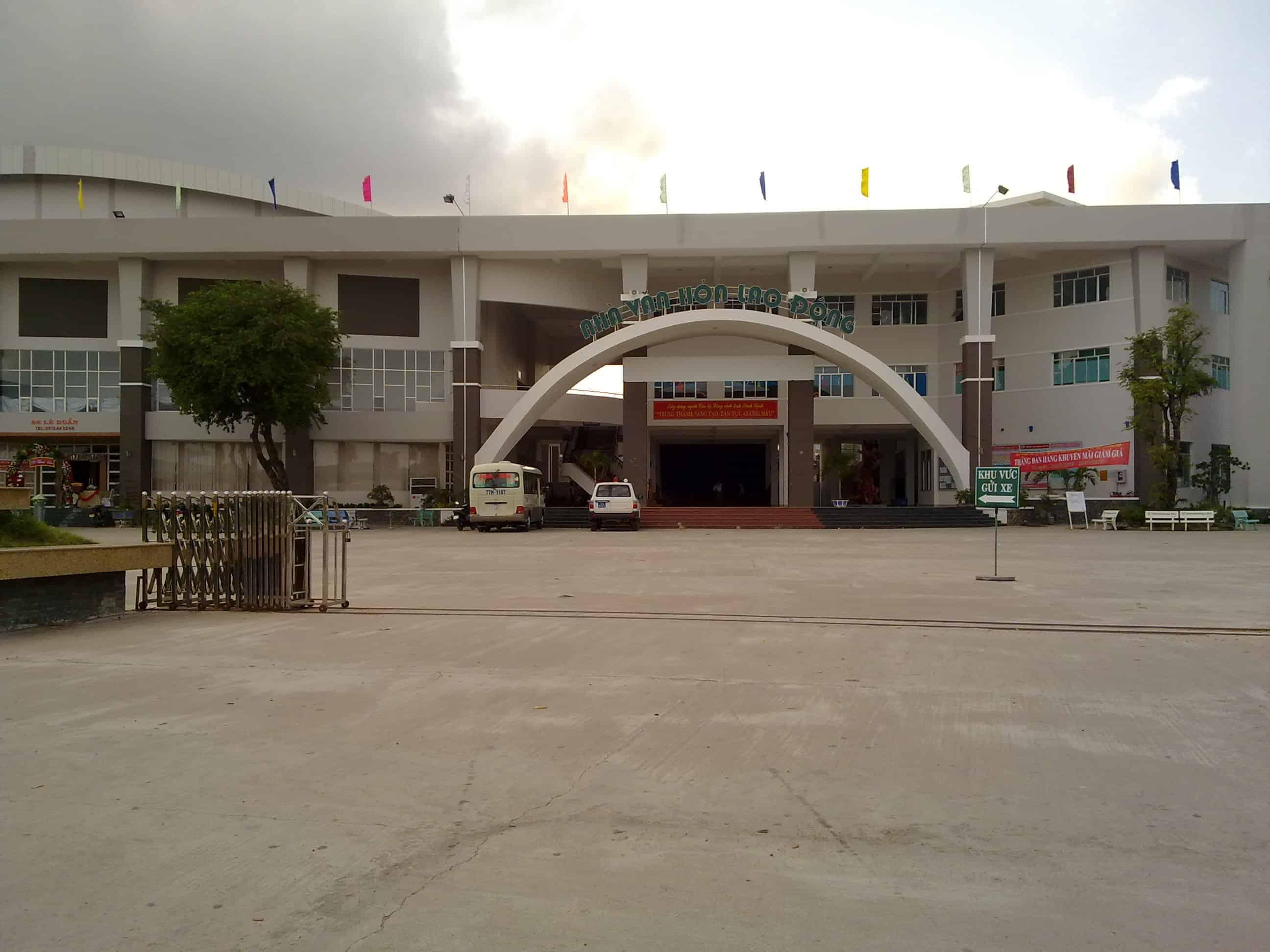 Nhà Văn Hóa Lao Động Tỉnh Bình Định
