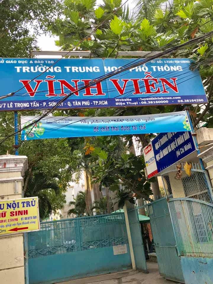 Trường THPT Vĩnh Viễn
