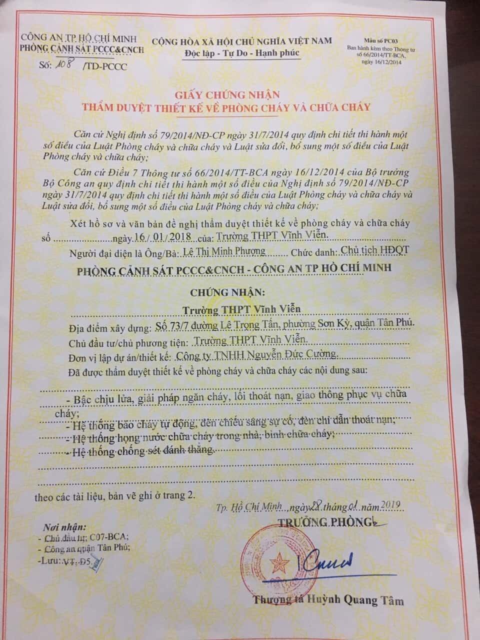 Công Ty Cung Cấp Thiết Bị Phòng Cháy Chữa Cháy NDC