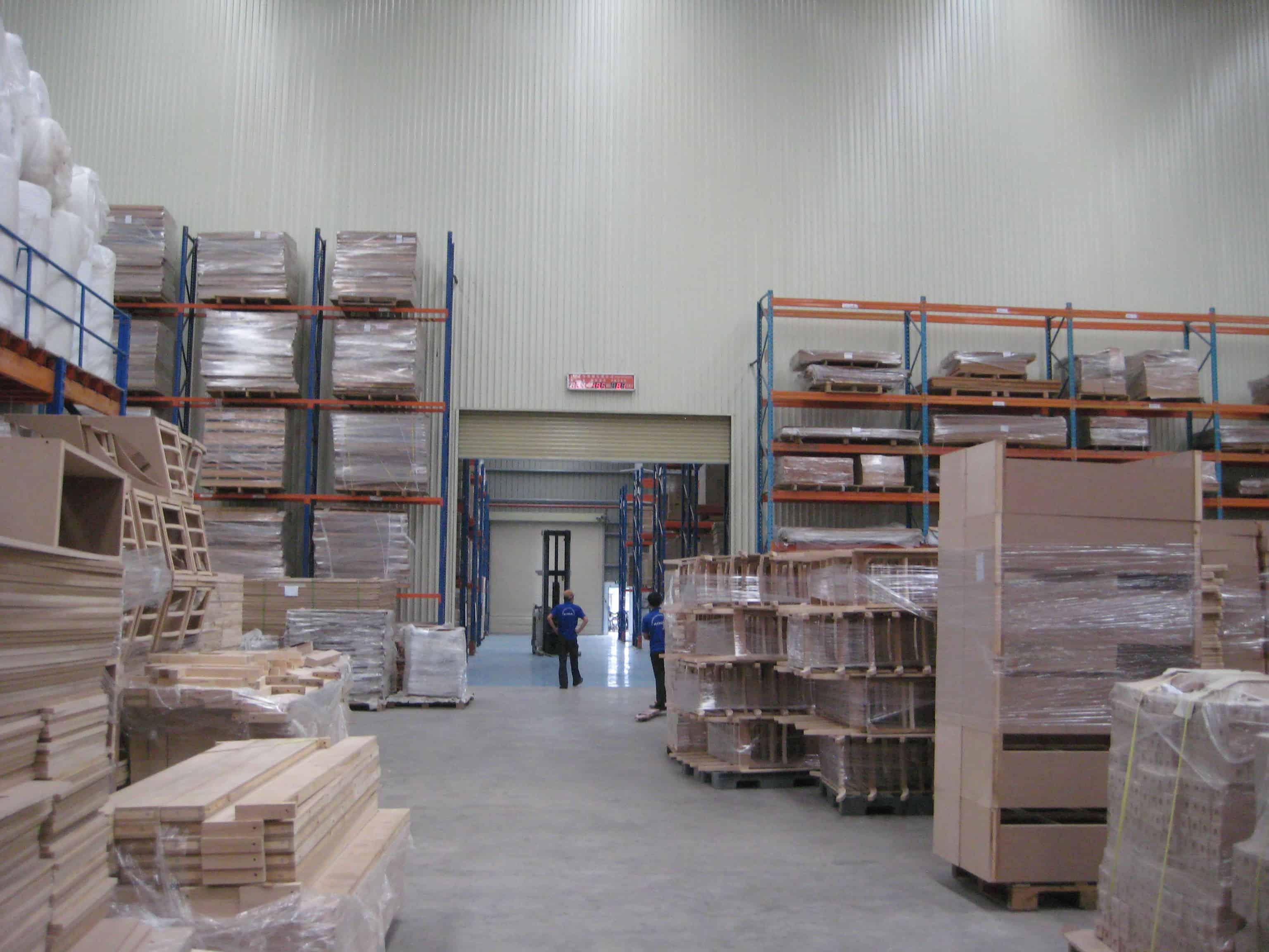 Nhà Xưởng Công ty Doka