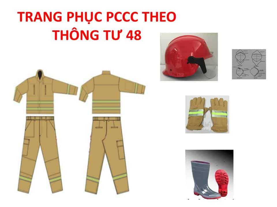 Thông Tư 48 PCCC Quy Định Về Trang Phục Chữa Cháy