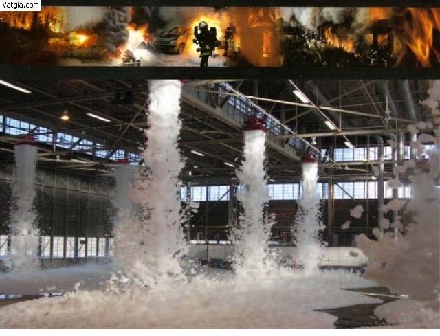 Công Cụ Phòng Cháy Chữa Cháy – Bọt Foam Chữa Cháy Là Gì?