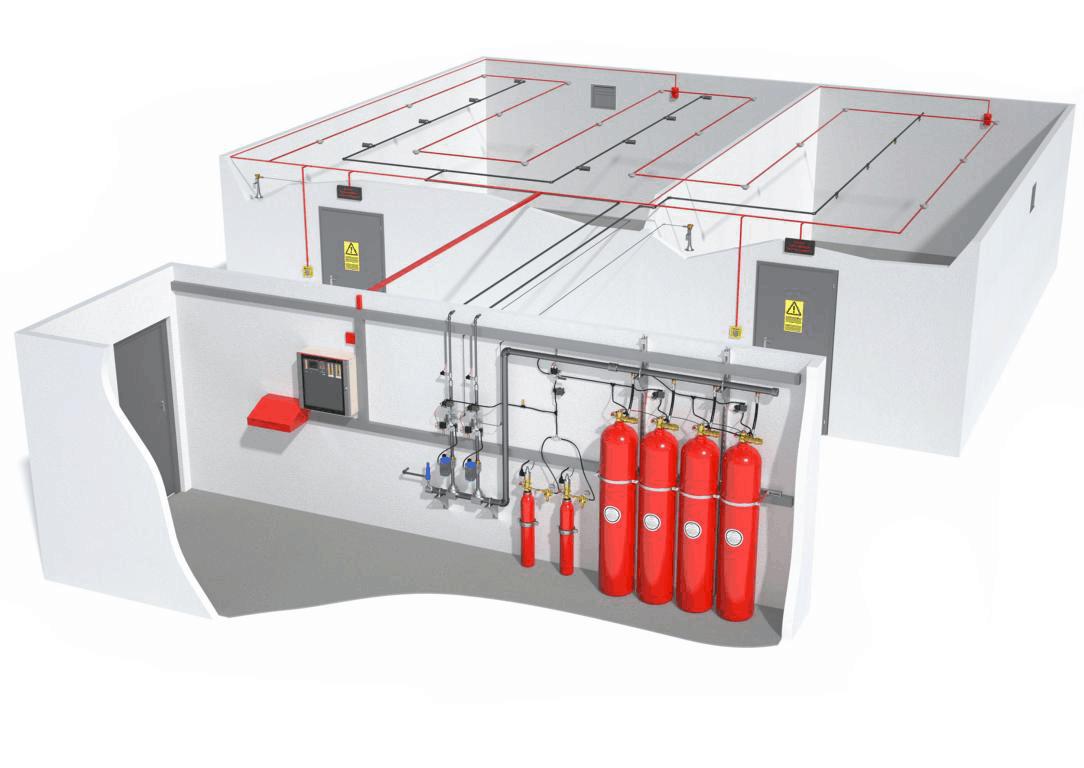 Cách thiết kế hệ thống phòng cháy chữa cháy đúng chuẩn