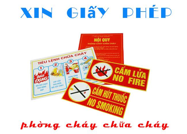 hồ sơ phòng cháy chữa cháy tại doanh nghiệp