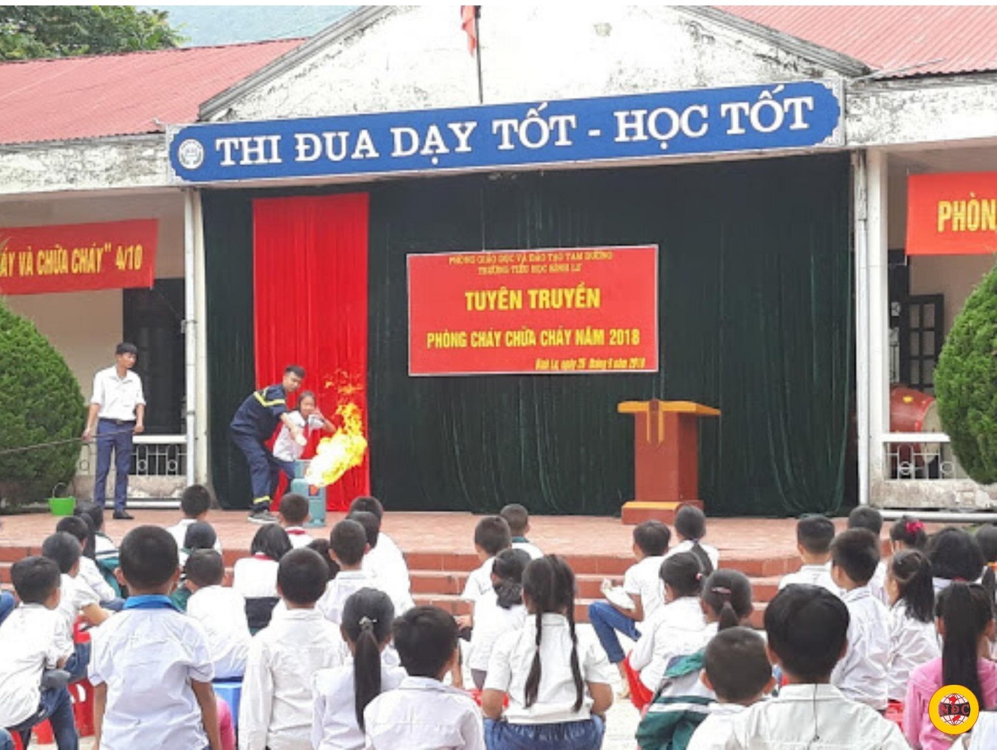 Thi Công Hệ Thống PCCC Trường Học Tại TP.HCM