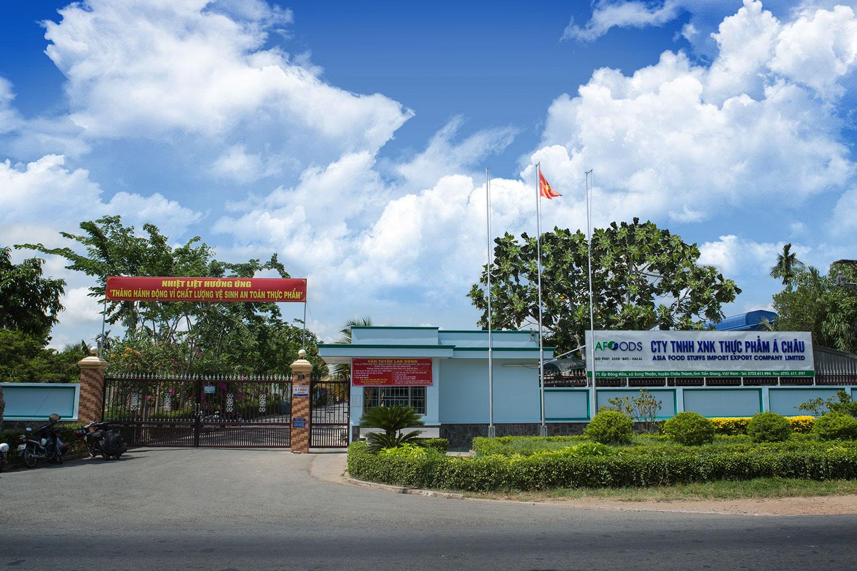 Kho lạnh và nhà để xe Công Ty TNHH XNK Thực Phẩm Á Châu