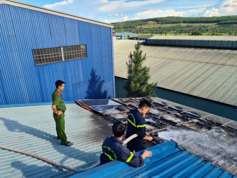 Hướng Dẫn Công Tác Thẩm Duyệt Thiết Kế Về PCCC Đối Với Nhà Máy Điện Mặt Trời Và Hệ Thống Điện Mặt Trời Mái Nhà